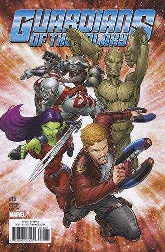 Guardians of the Galaxy (2015) #15 (1:10 Animation Variant)