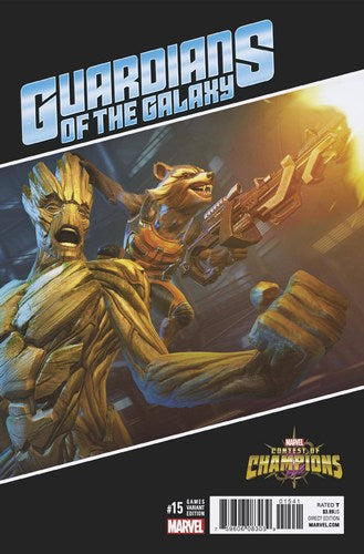 Guardians of the Galaxy (2015) #15 (1:10 Games Variant)