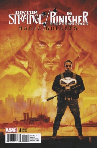 Doctor Strange Punisher Magic Bullets (2016) #1 (Variant)