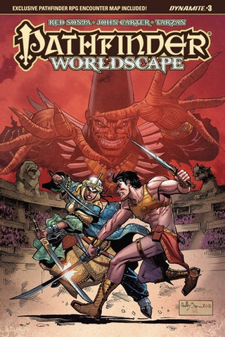 Pathfinder Worldscape (2016) #3 (Cover A Brown)
