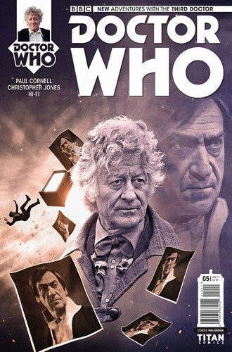 Doctor Who 3rd (2016) #5 (Cover B Photo)