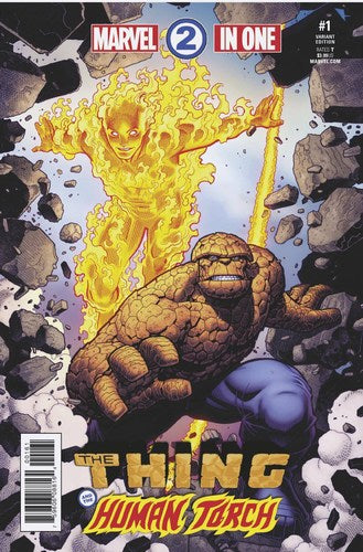 Marvel Two-In-One (2017) #1 (1:25 Arthur Adams Var Leg)