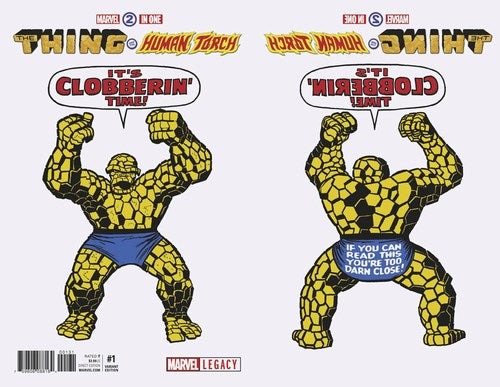 Marvel Two-In-One (2017) #1 (1:50 Kirby 1965 T-Shirt Var Leg)
