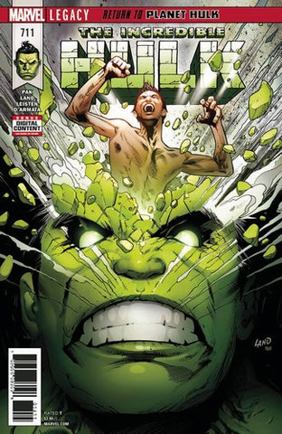 Incredible Hulk (2017) #711 (Leg)