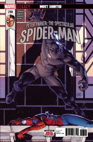 Peter Parker The Spectacular Spider-Man (2017) #298 (Leg)