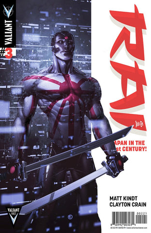 Rai (2014) #3 (Cover B Crain Signed by Clayton Crain)