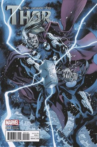 Unworthy Thor (2016) #1 (1:15 Hitch Variant)