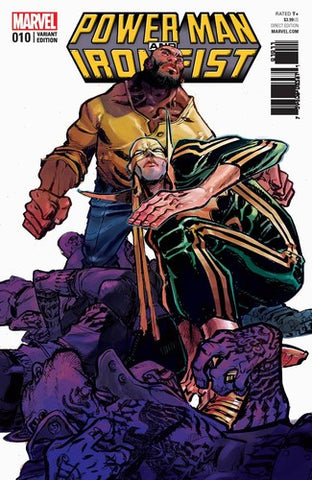 Power Man and Iron Fist (2016) #10 (1:25 Canete Variant)