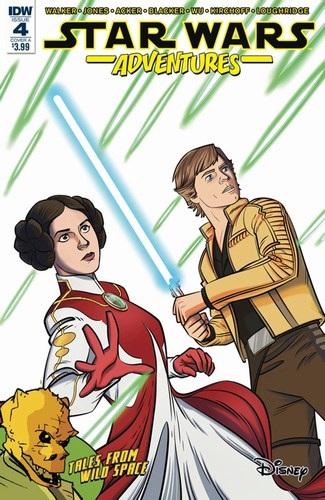 Star Wars Adventures (2017) #4 (Cover A Jones)