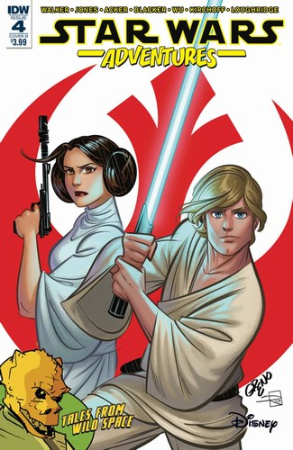 Star Wars Adventures (2017) #4 (Cover B Greno)