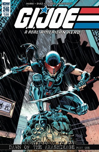 GI Joe: A Real American Hero (2010) #246 (Cover B Royle)
