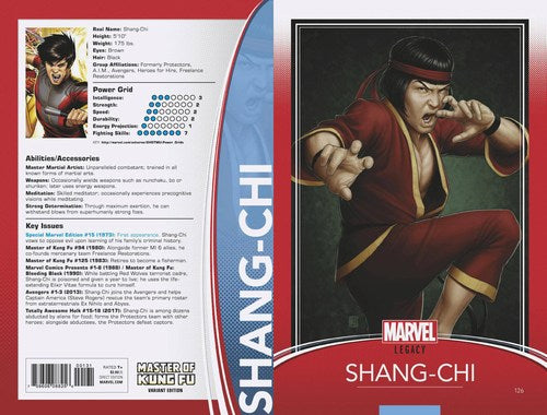 Master of Kung-Fu (2017) #126 (Christopher Trading Card Leg)