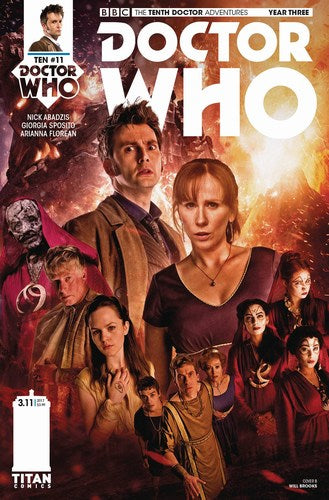 Doctor Who 10th Year Three (2016) #11 (Cover B Photo)