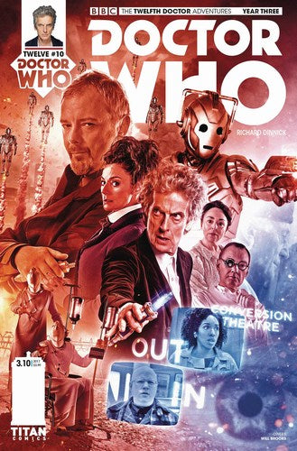 Doctor Who 12th Year Three (2017) #10 (Cover B Photo)