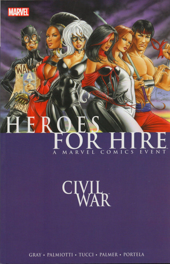 Heroes for Hire Volume 1: Civil War TP