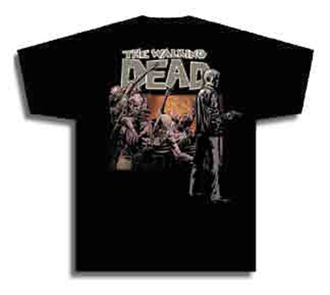 WALKING DEAD T/S RICK XL