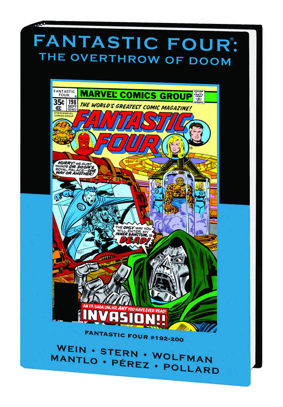 Fantastic Four: Overthrow of Doom Premiere HC  (DM Variant Edition)