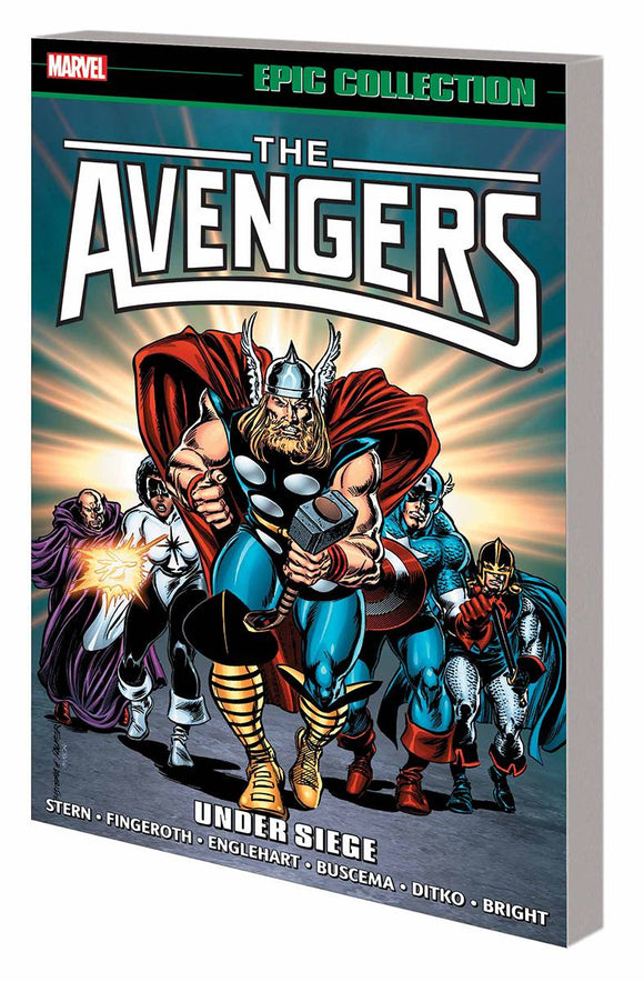 AVENGERS EPIC COLLECTION TP UNDER SIEGE