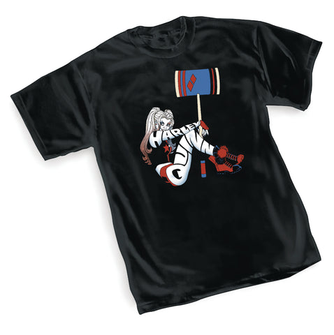 DC Comics Harley Quinn Hit Mens Black