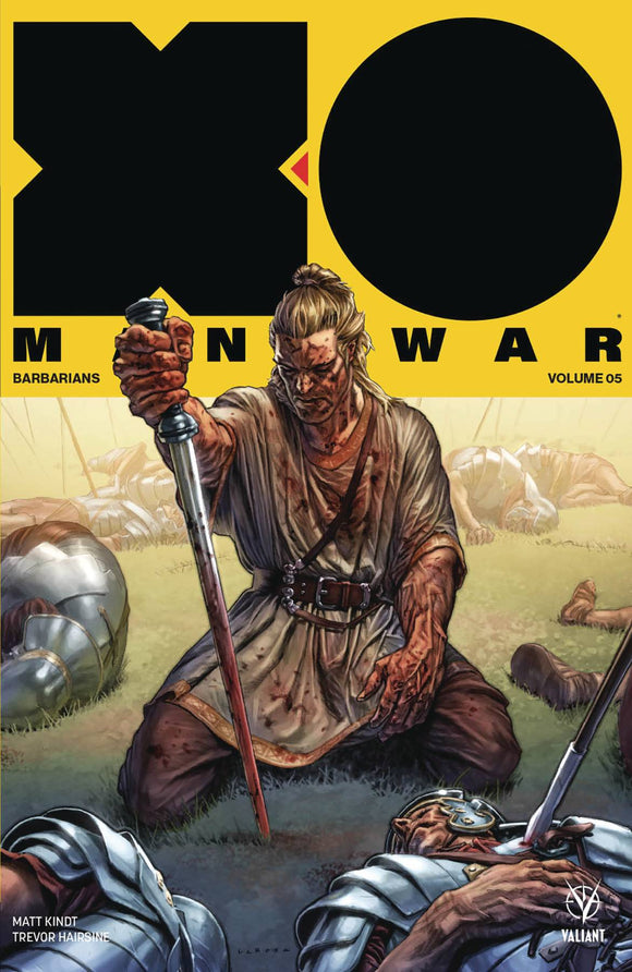 X-O Manowar 2017 TP Volume 5 (BARBARIANS)