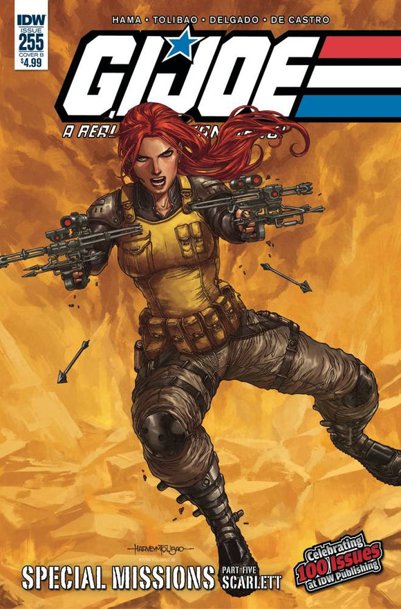 GI Joe: A Real American Hero (2010) #255 (Cover B Tolibao)