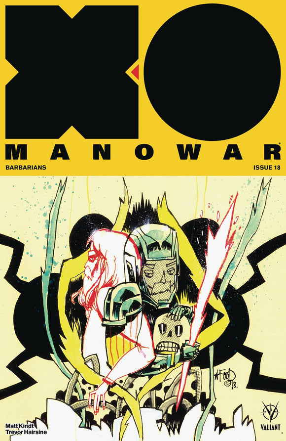 X-O Manowar (2017) #18 (Cover B Mahfood)