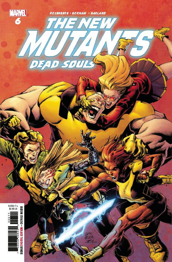 New Mutants Dead Souls (2018) #6