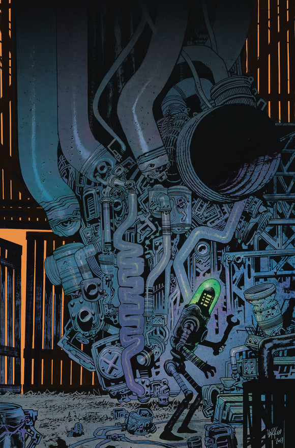 Black Hammer Age of Doom (2018) #4 (Harren Cover)