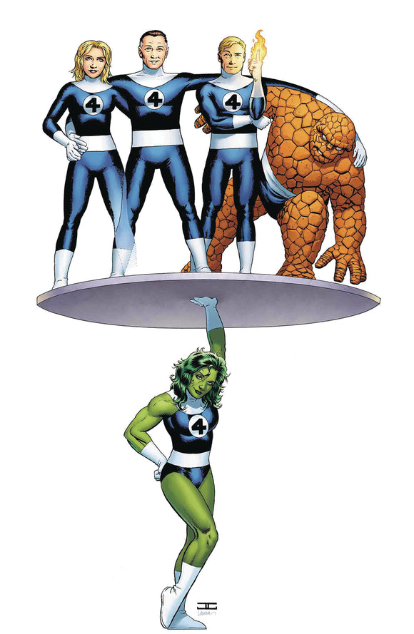 Avengers (2018) #6 (Cassaday Return Of Fantastic Four Var)