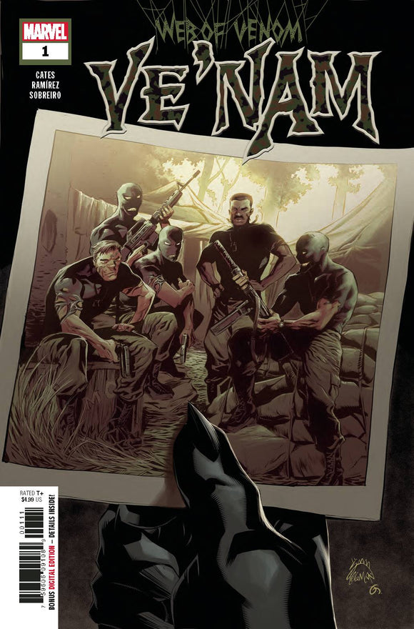 Web of Venom VeNam (2018) #1