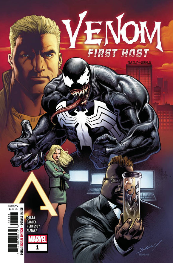 Venom First Host (2018) #1