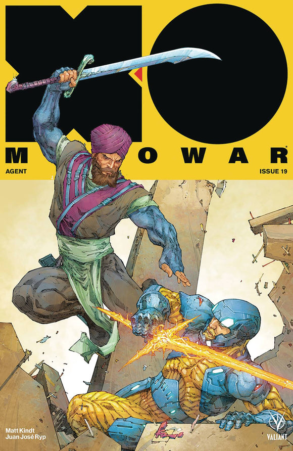 X-O Manowar (2017) #19 (NEW ARC) CVR A ROCAFORT