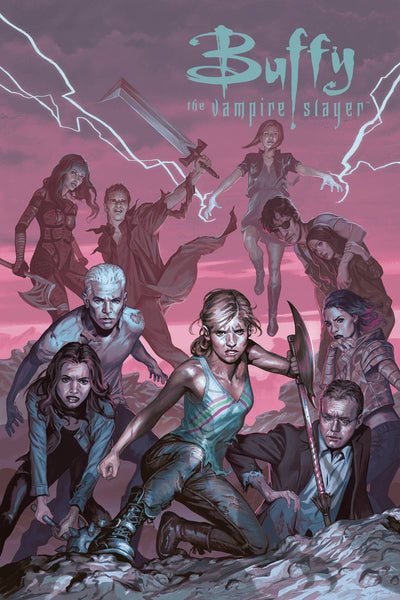 Buffy the Vampire Slayer Season 12 (2018) #4 (CVR C ULTRA VARIANT MORRIS)