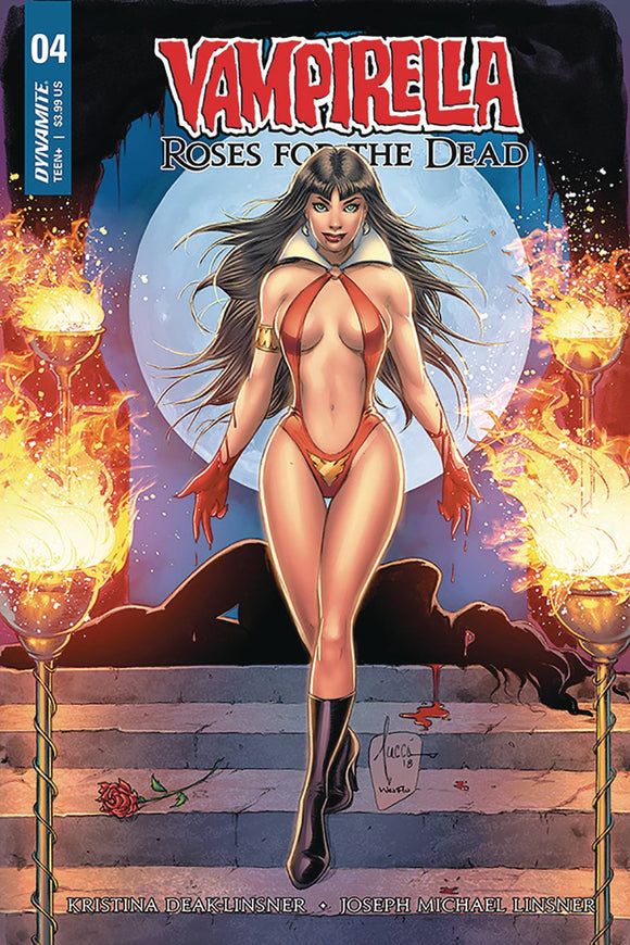 Vampirella Roses for the Dead (2018) #4 (CVR B TUCCI)
