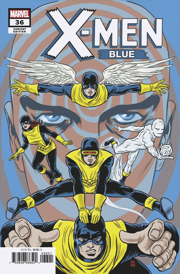 X-Men Blue (2017) #36 (ALLRED FINAL ISSUE VARIANT)
