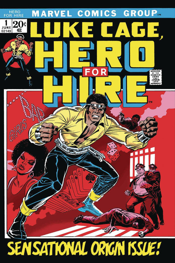 True Believers Luke Cage Hero for Hire (2018) #1