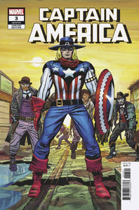 Captain America (2018) #3 (KIRBY REMASTERED VARIANT)