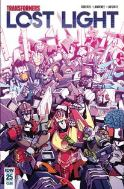 Transformers Lost Light (2016) #25 (CVR A LAWRENCE)