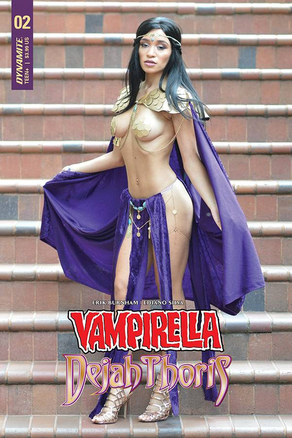 Vampirella Dejah Thoris (2018) #2 (CVR F DEJAH THORIS COSPLAY)
