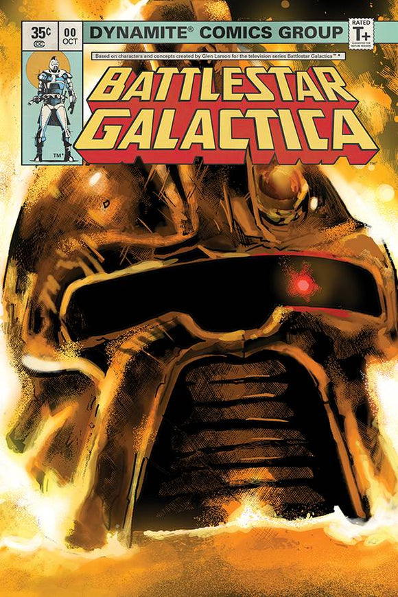 Battlestar Galactica Classic (2018) #0 (25 COPY GALINDO SNEAK INCV)