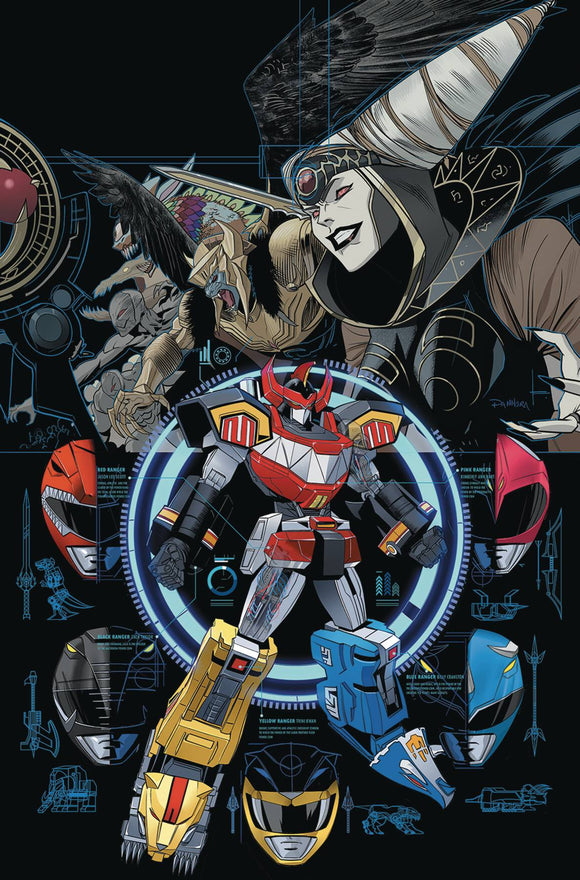 Go Go Power Rangers (2017) #13 (MAIN & MIX SG)