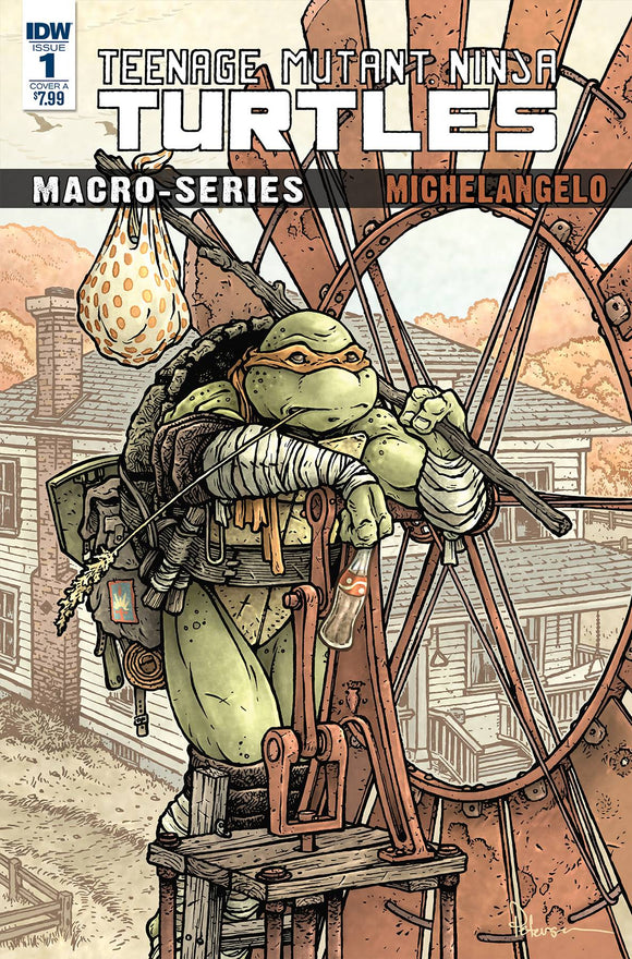 Teenage Mutant Ninja Turtles Macro-Series (2018) #1 (CVR A PETERSEN)