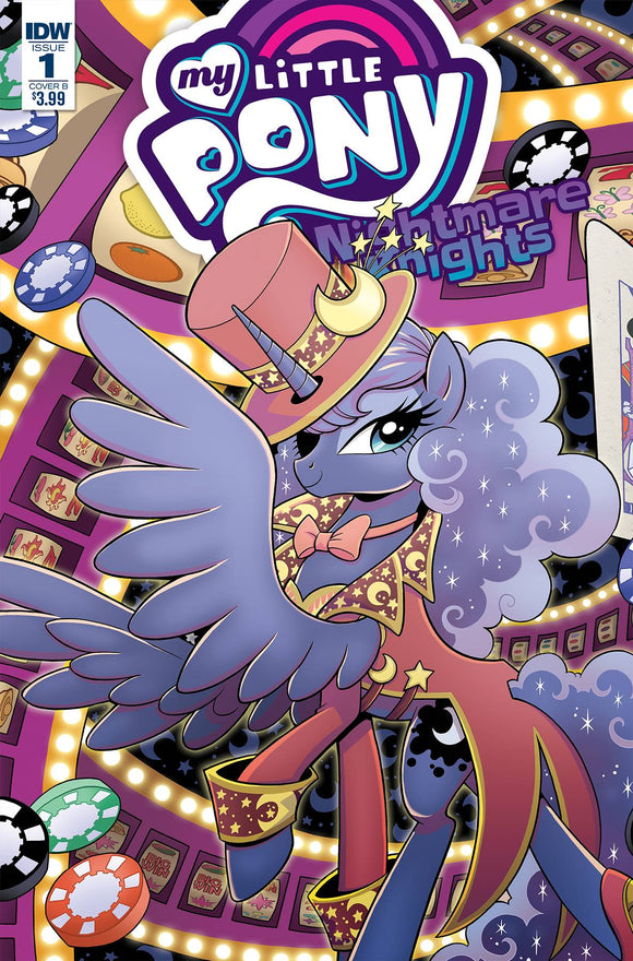 My Little Pony Nightmare Knights (2018) #1 (CVR B HICKEY)
