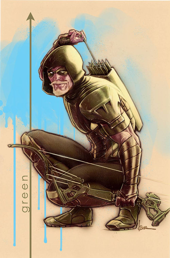 Green Arrow (2016) #45 (VAR ED (HEROES IN CRISIS))