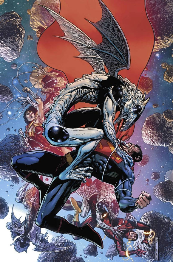 Justice League (2018) #9 (DROWNED EARTH)