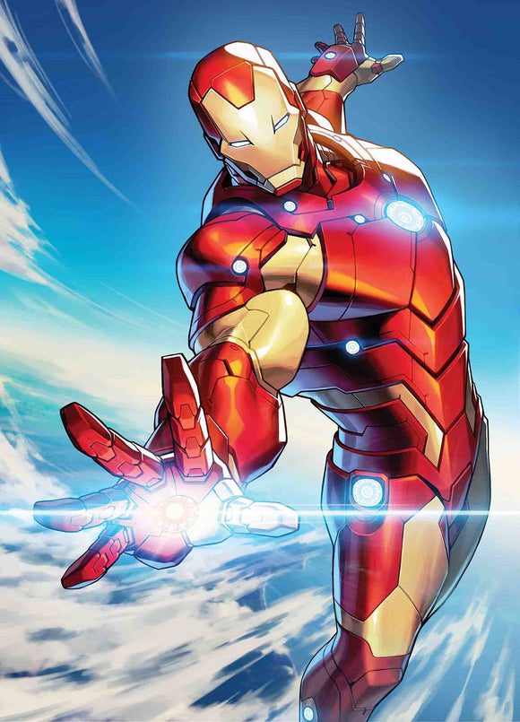 Tony Stark Iron Man (2018) #5 (JONG-JU KIM MARVEL BATTLE LINES VAR)