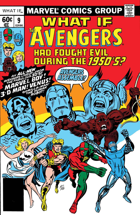 True Believers What If Avengers Fought Evil During 1950s (2018) #1