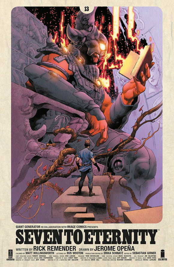 Seven to Eternity (2016) #13 (CVR A OPENA & HOLLINGSWORTH)
