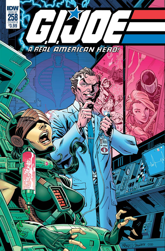 GI Joe: A Real American Hero (2010) #258 (CVR B ROYLE)