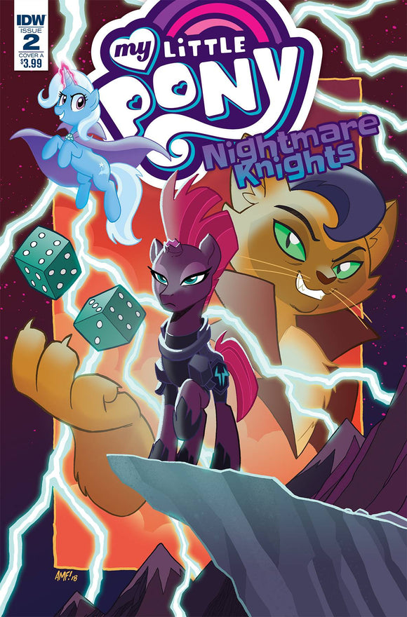 My Little Pony Nightmare Knights (2018) #2 (CVR A FLEECS)